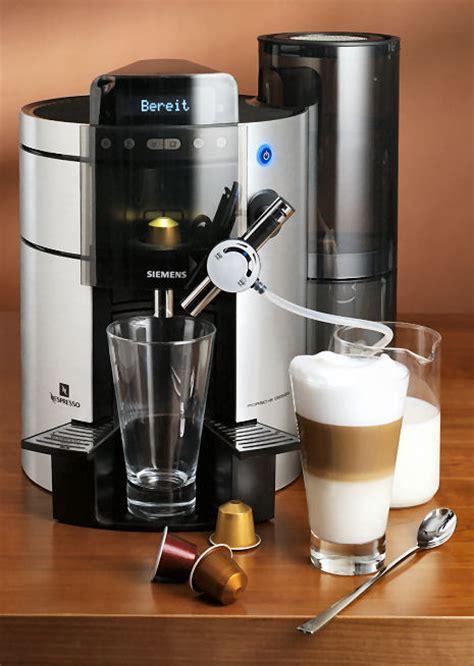 porsche design coffee maker nespresso machine siemens porsche design