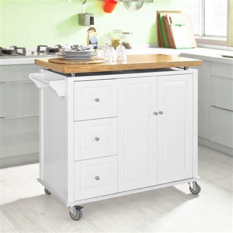 Kücheninsel Tops by Sobuy Neu Luxus K 252 Chenwagen Arbeitsplatte Aus