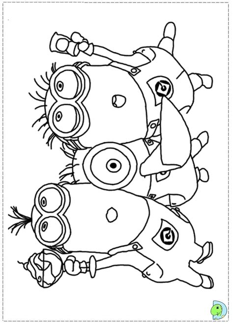 Minions Thanksgiving Coloring Pages | free coloring pages of minions