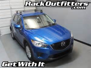 mazda cx 5 thule traverse square bar roof rack 12 15