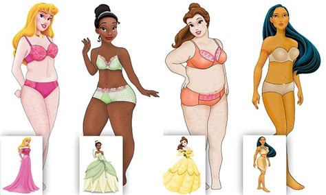 how disney princesses would look if they were real by
