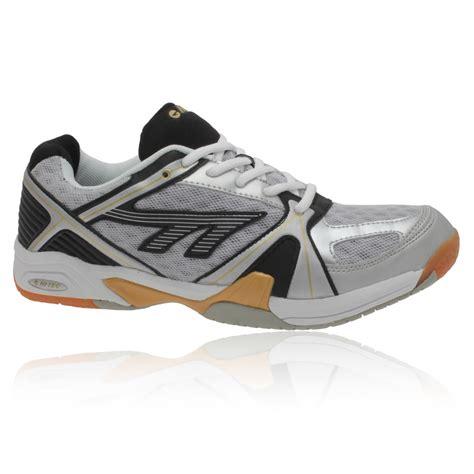 hi tec shoes hi tec mens lite white black indoor court badminton squash