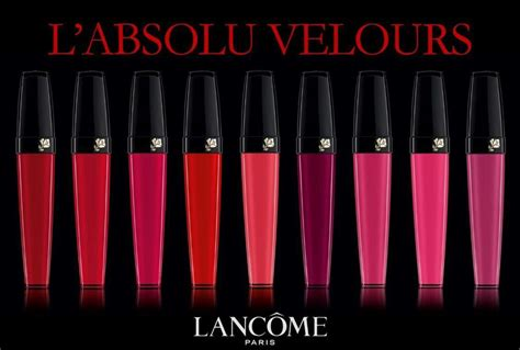 Lipstik Lancome Indonesia interpretasi warna warna lipstik l absolu velours