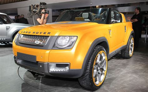 land rover dc100 2011 frankfurt land rover dc100 and dc100 sport