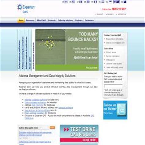 Qas Address Search Experian Qas Australia Verify Address B2b Business Software Solutions To Help