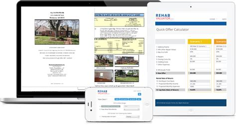 Free Real Estate Property Flipping Software For Rehabbers Wholesalers Investors And House Investor Packet Template