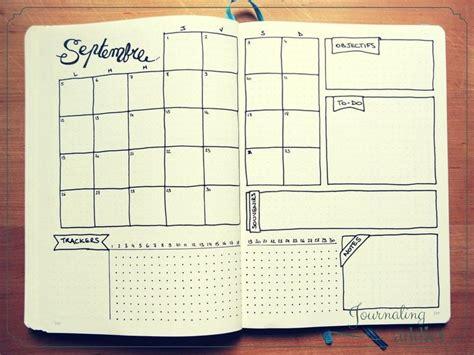 lien doodle calendar bullet journal page mensuelle pages mensuelles monthly
