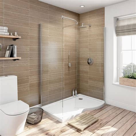 walk in shower increase the functionality and looks