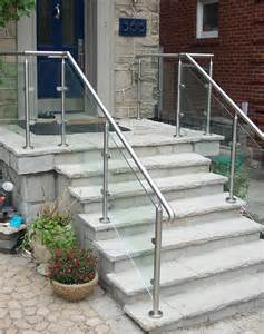Modern Banisters And Handrails Glass Showers Glass Railings