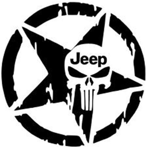 Jeep Skull Sticker Willys Jeep Decal Ebay