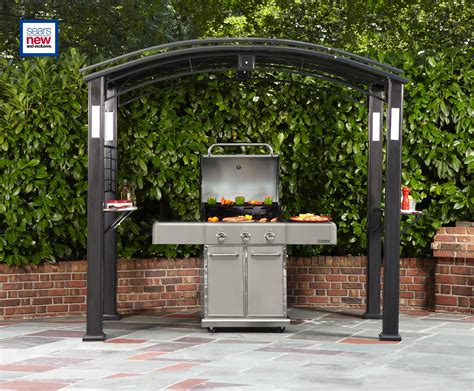 Grill Gazebo With Lights by Grand Resort Gf 11s087x Grill Gazebo With Lights