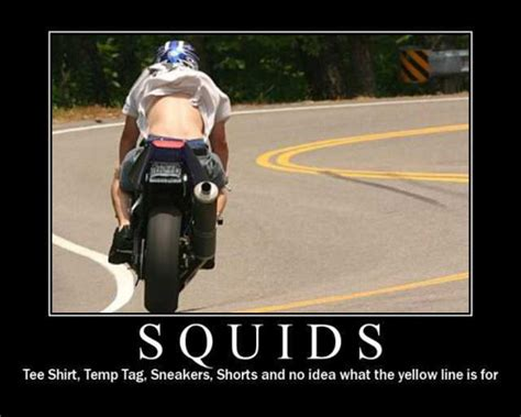 Crotch Rocket Meme - too much blue sky idiot on a motorcycle