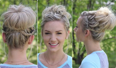 updos cute girls hairstyles youtube waterfall bun updo cute girls hairstyles youtube