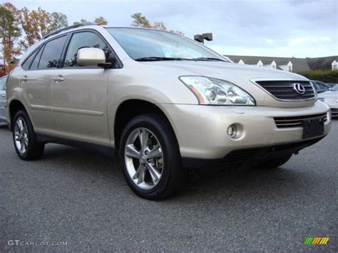 2007 beige metallic lexus rx 400h awd hybrid 56348471 gtcarlot car color galleries