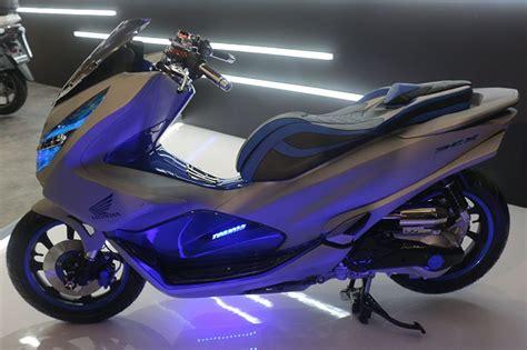 Pcx 2018 Jakarta by Honda Pcx 2018 Dimodif Bergaya Futuristik Modifikasi