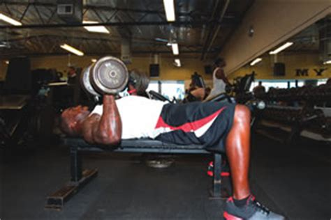 patrick willis bench press get ripped with patrick willis workout stack