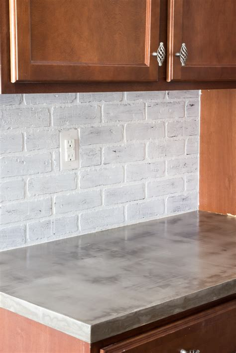 How To Do Cement Countertops Diy Feather Finish Concrete Countertops Bless Er House