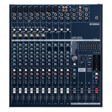 Power Mixer Yamaha Emx5014c yamaha emx5014c powered mixer at gear4music