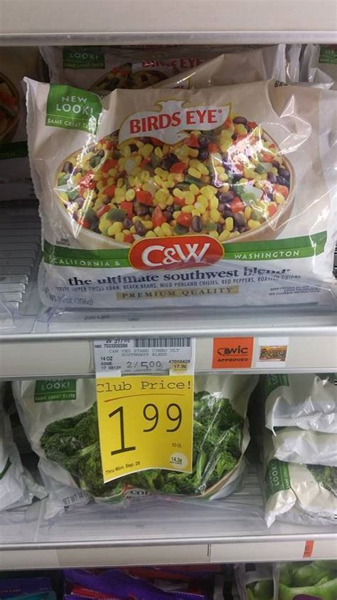c w vegetables 1 50 1 c w premium vegetables pay 49 at safeway