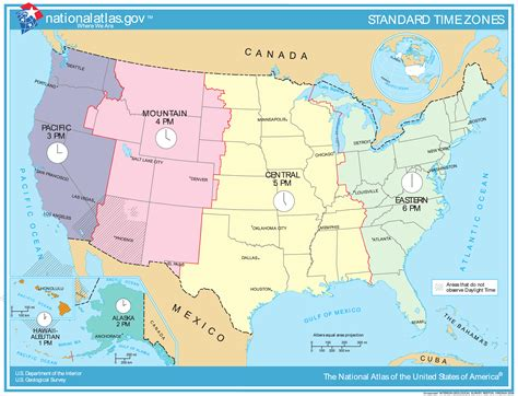 Lu Emergency Timezone map of usa time zones map of usa states