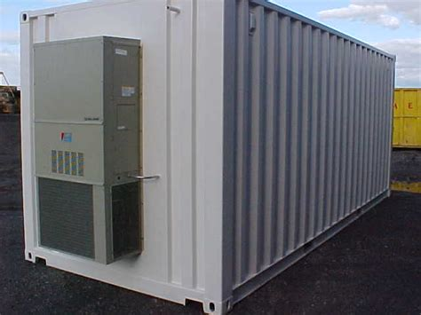 refrigerated shipping containers a c and heated solutions