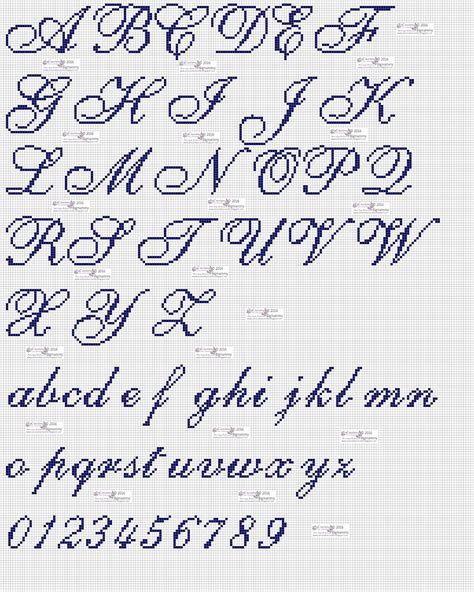 punto e croce lettere amorevitacrocette punto croce alfabeti in corsivo