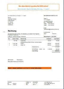 Musterrechnung Skonto rechnungsprogramm rechnungssoftware faktura