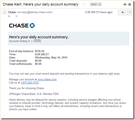 chase bank account tax statements