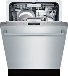Bosch Dishwasher 3rd Rack Shx88pw55n Bosch Benchmark 24 Quot Dishwasher 40 Db 6 6