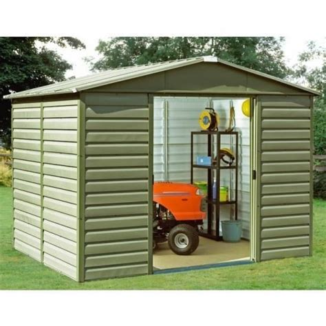 Yard Master Shed by Yardmaster Sl Shiplap Metal Sheds Metal Sheds Direct