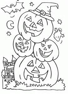 spooky halloween coloring pages coloring