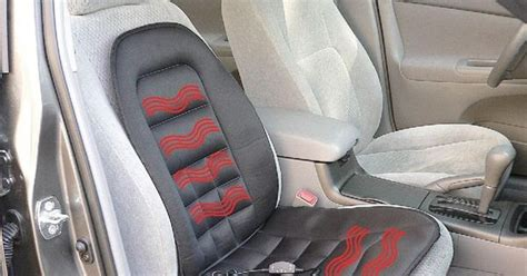 loaded seat cushion heated seat cushions are great for those who don t a
