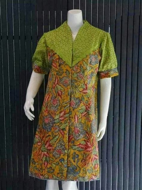 Linen Outer Batik Outer the 25 best contoh model baju batik ideas on