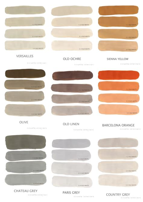 chalk paint mixed colors pin by rikki rothert on diying