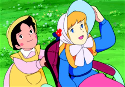 heidi una sedia per clara heidi il cartone animato la serie il cartone animato heidi
