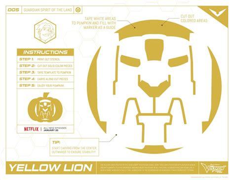 printable pumpkin stencils moana voltron yellow lion pumpkin stencil mama likes this