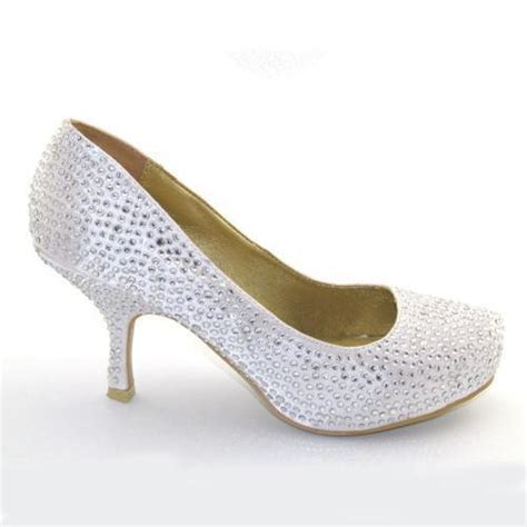 diamante prom shoes ebay