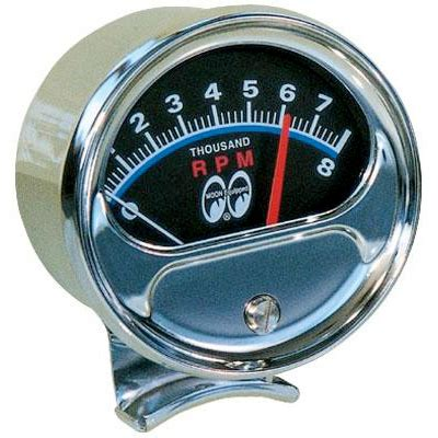 moon equipped  sweep tachometer