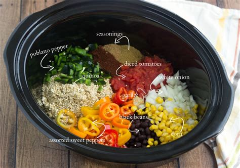 slow cooker quinoa tex mex chelsea s messy apron