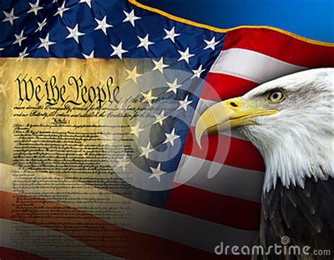 patriotic symbols united states  america stock photo