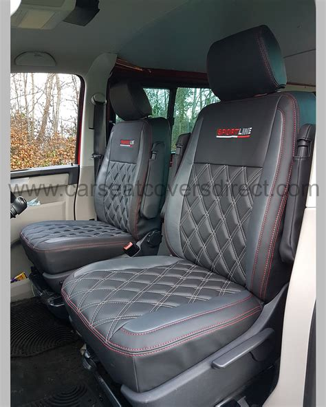 vw transporter bench seat vw transporter t6 kombi seat covers charcoal grey with