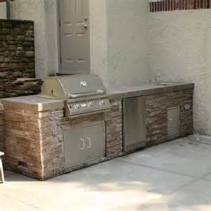 sewall outdoor grill island project by leisure select