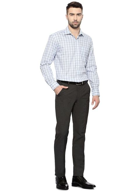 Kemeja Pria Formal Two Combination Grey Frzn 085 s guide to pant shirt combination looksgud in