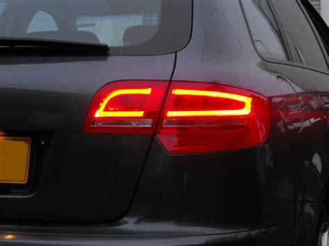 audi a3 sportback led lights audi a3 8p rear led lights sportback 5dr models only