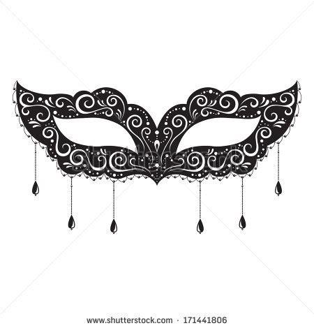 masquerade clipart masquerade ball mask pencil and in