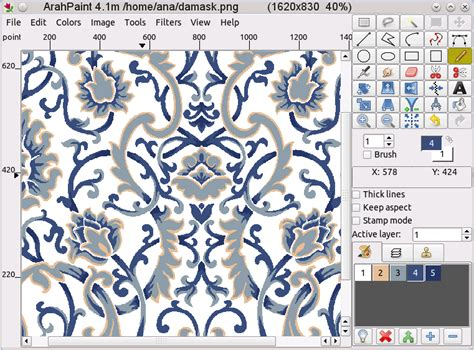 download pattern design software arahpaint drawing