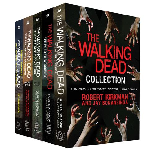 walking with your books the walking dead collection robert kirkman macmillan