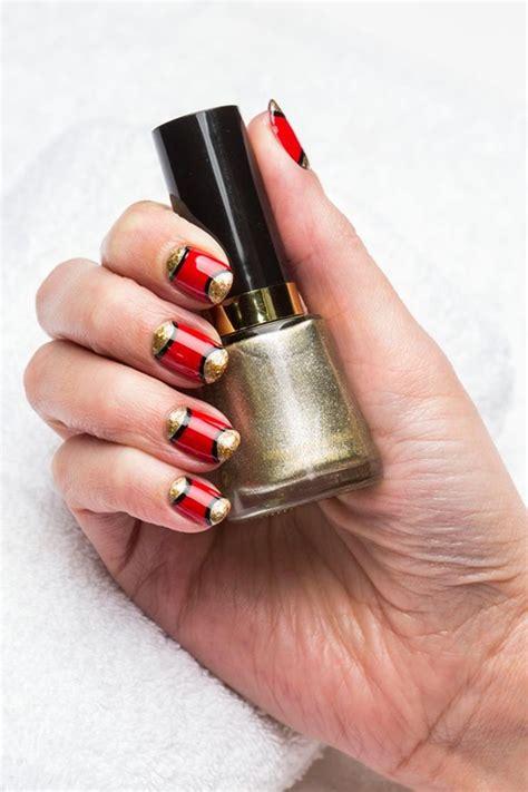 imagenes de uñas pintadas de rojo y negro 10 im 225 genes de u 241 as decoradas que est 225 n de moda