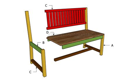 indoor bench plans how to build an indoor bench howtospecialist how to