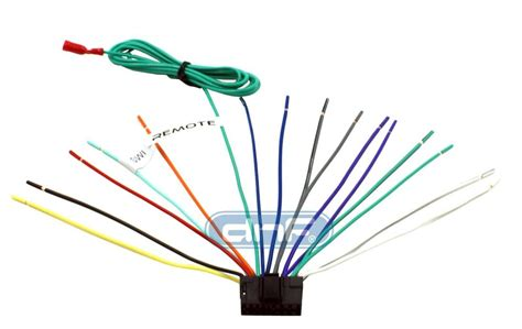 sony wiring harness  pin  ft remote wire click  compatibility chart ebay